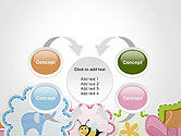 Cute Baby Shower Invitation PowerPoint Template#6