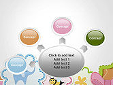 Cute Baby Shower Invitation PowerPoint Template#7