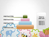 Cute Baby Shower Invitation PowerPoint Template#8
