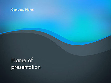 Abstract/Textures: Abstract Wavelet Background PowerPoint Template #14356