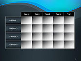 Abstract Wavelet Background PowerPoint Template#15