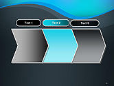 Abstract Wavelet Background PowerPoint Template#16