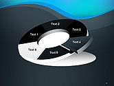 Abstract Wavelet Background PowerPoint Template#19