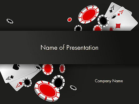 Poker Chips PowerPoint Template