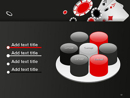 Poker Chips PowerPoint Template Slide 12