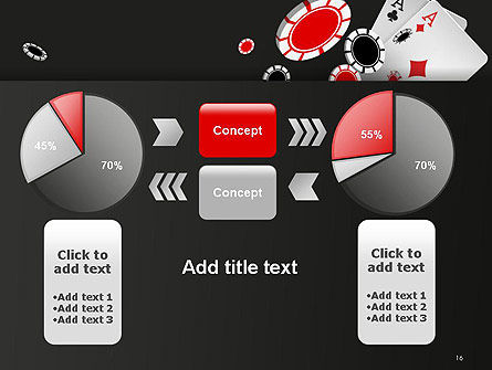 Poker Chips PowerPoint Template Slide 16