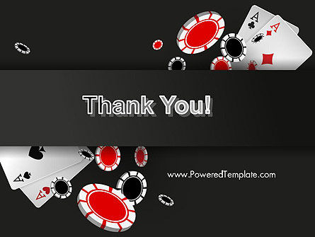 Poker Chips PowerPoint Template Slide 20