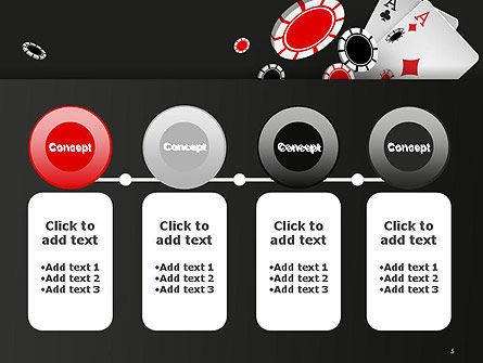 Poker Chips PowerPoint Template Slide 5
