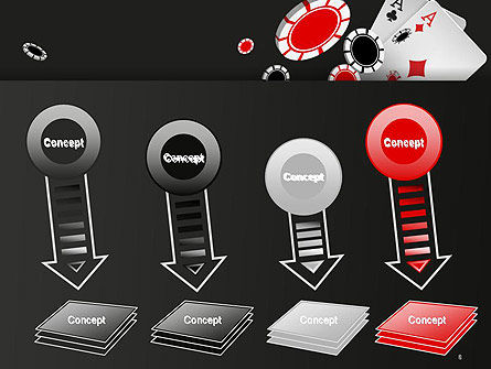 Poker Chips PowerPoint Template Slide 8