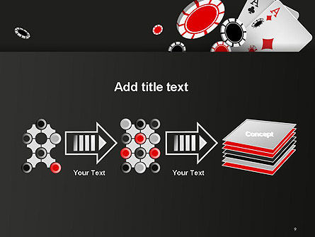 Poker Chips PowerPoint Template Slide 9
