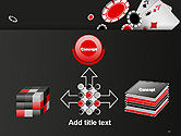 Poker Chips PowerPoint Template#19