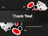 Poker Chips PowerPoint Template#20