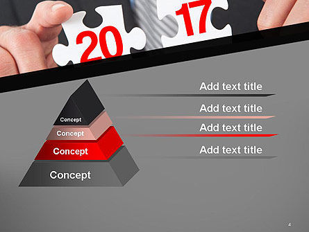 Hands and Puzzle 2017 PowerPoint Template Slide 4