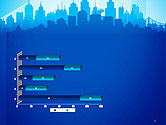 Silhouette of The City PowerPoint Template#11