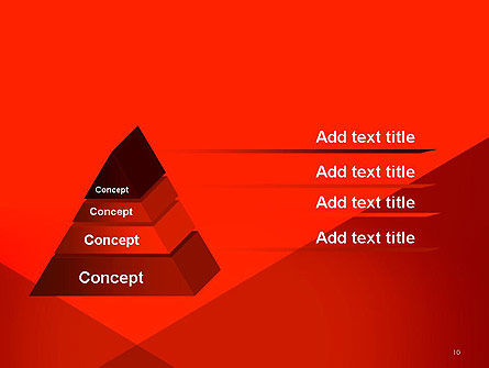Triangular Abstract PowerPoint Template Slide 10