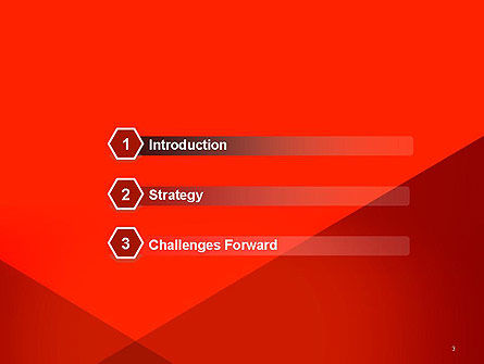 Triangular Abstract PowerPoint Template Slide 3