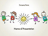 Education & Training: Children's Day PowerPoint Template #14363