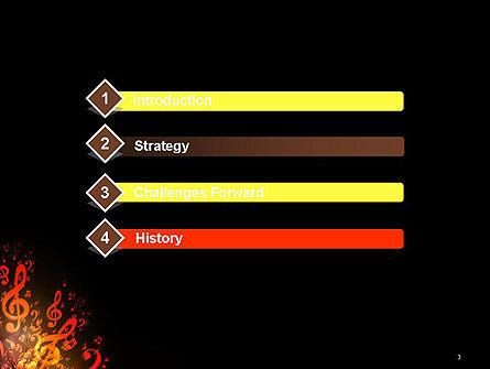 Music Explosion PowerPoint Template, Slide 3, 14364, Art & Entertainment — PoweredTemplate.com