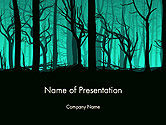Nature & Environment: Deadwood silhouette PowerPoint Vorlage #14365