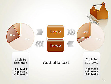Toolbox and Spanner PowerPoint Template Slide 11