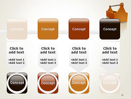 Toolbox and Spanner PowerPoint Template Slide 18