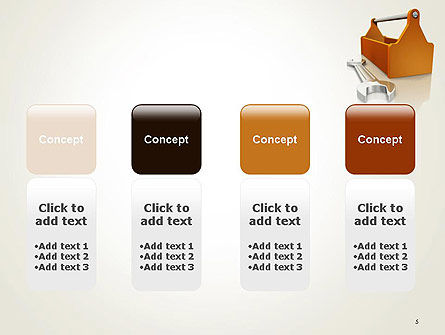 Toolbox and Spanner PowerPoint Template Slide 5