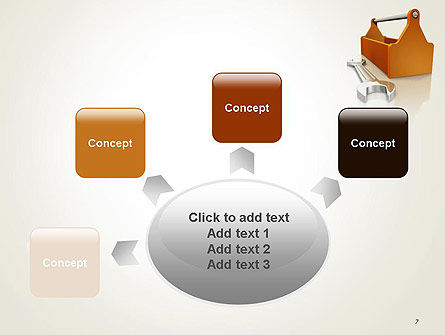 Toolbox and Spanner PowerPoint Template Slide 7