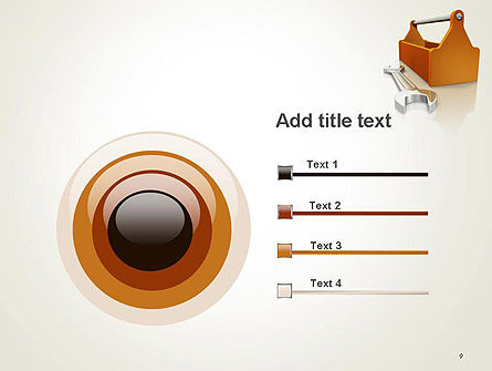 Toolbox and Spanner PowerPoint Template Slide 9