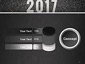 Message Start 2017 on Asphalt Road PowerPoint Template#11