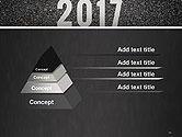 Message Start 2017 on Asphalt Road PowerPoint Template#12