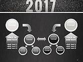 Message Start 2017 on Asphalt Road PowerPoint Template#19