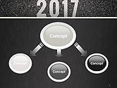 Message Start 2017 on Asphalt Road PowerPoint Template#4