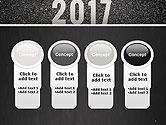 Message Start 2017 on Asphalt Road PowerPoint Template#5
