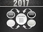 Message Start 2017 on Asphalt Road PowerPoint Template#6