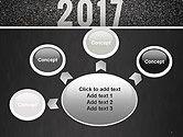 Message Start 2017 on Asphalt Road PowerPoint Template#7