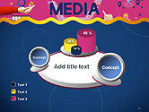 Social Media Technology Innovation Concept PowerPoint Template#16