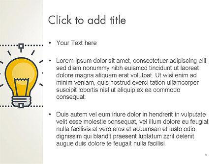 Idea Selection PowerPoint Template, Slide 3, 14372, Business Concepts — PoweredTemplate.com