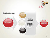 Checked Rubber Stamp PowerPoint Template#17