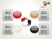 Checked Rubber Stamp PowerPoint Template#9