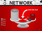 Network Communication Connection PowerPoint Template#10