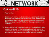 Network Communication Connection PowerPoint Template#2