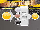Exterior Tube of Petrochemical Plant PowerPoint Template#17