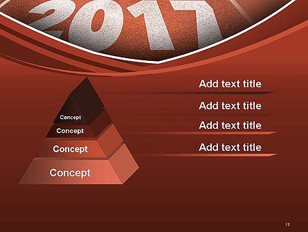 2017 Numbers on Running Track PowerPoint Template Slide 12