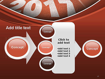2017 Numbers on Running Track PowerPoint Template Slide 17