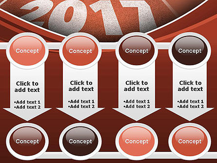 2017 Numbers on Running Track PowerPoint Template Slide 18