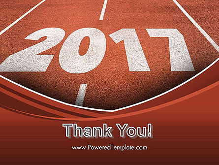 2017 Numbers on Running Track PowerPoint Template Slide 20