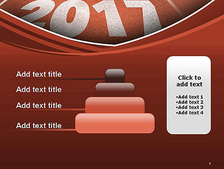 2017 Numbers on Running Track PowerPoint Template Slide 8