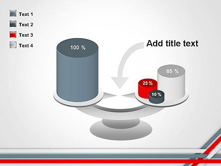 Angle Stripes Border PowerPoint Template Slide 10