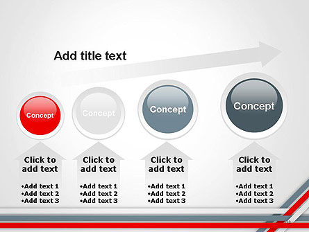 Angle Stripes Border PowerPoint Template Slide 13