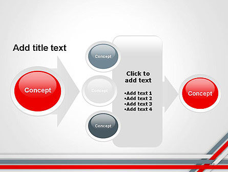 Angle Stripes Border PowerPoint Template Slide 17